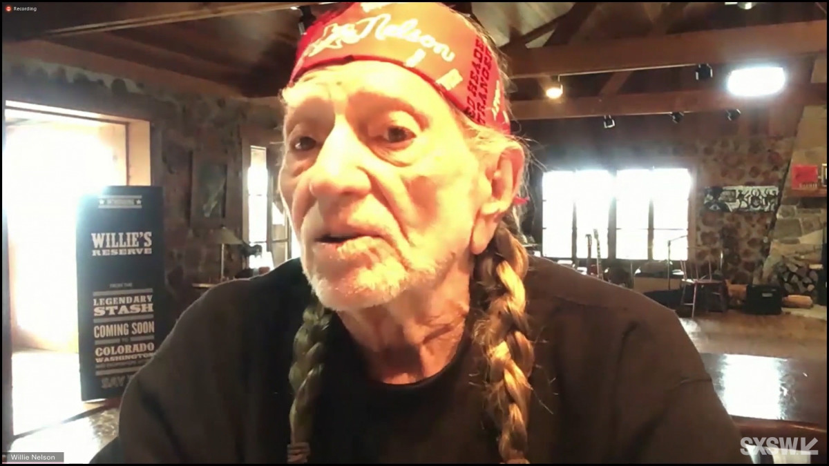 Keynote: Willie Nelson in Conversation with Andy Langer,