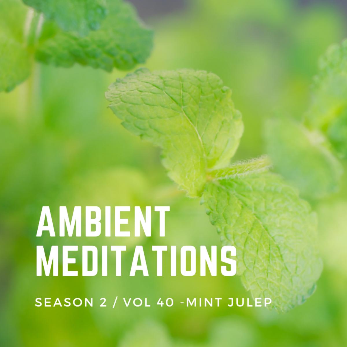 Ambient Meditations Season 2 - Vol 40 - Mint Julep