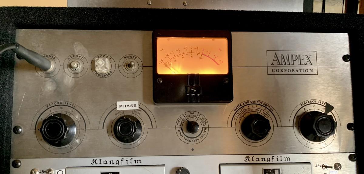 Ampex 351 Tube Mic Preamp
