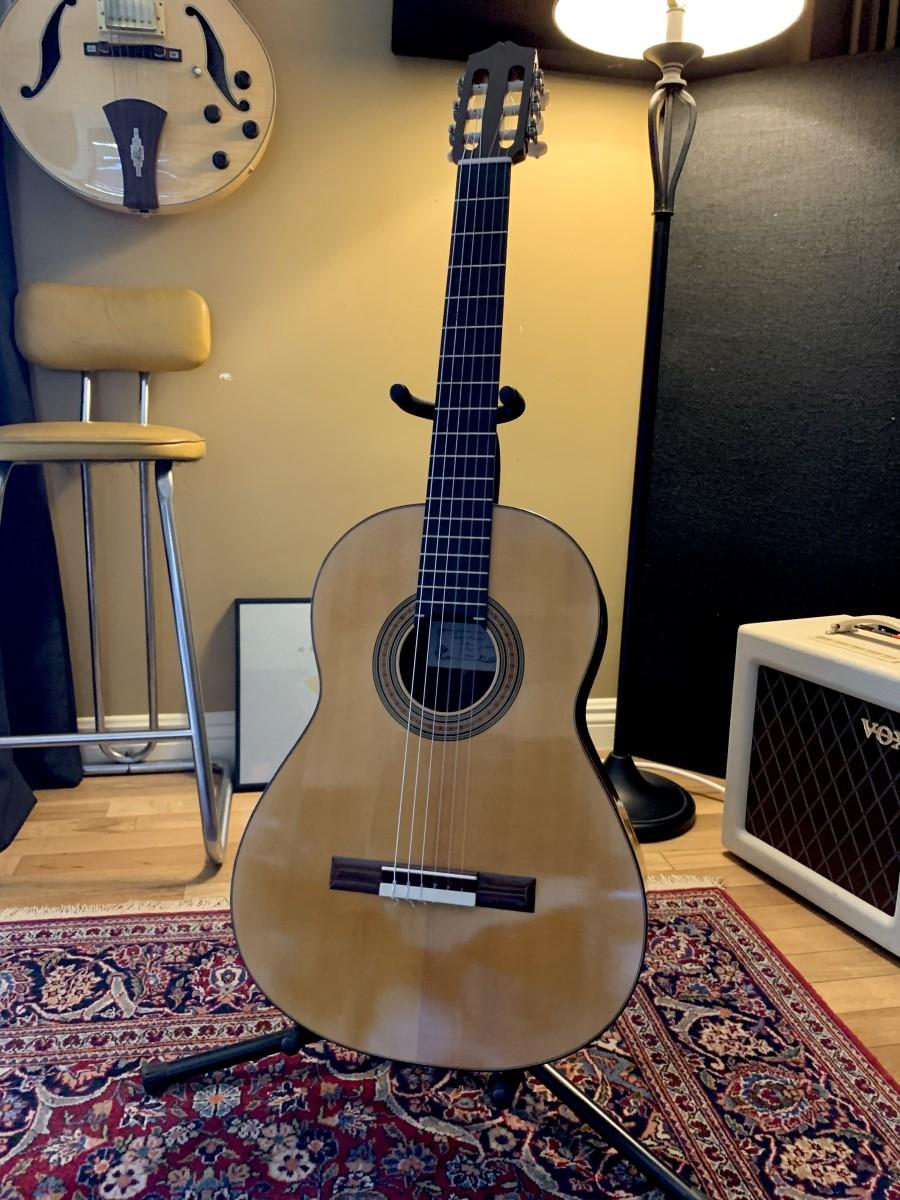 Thomas Norwood Santos 2011 Classical Guitar, Spruce/Indian Rosewood