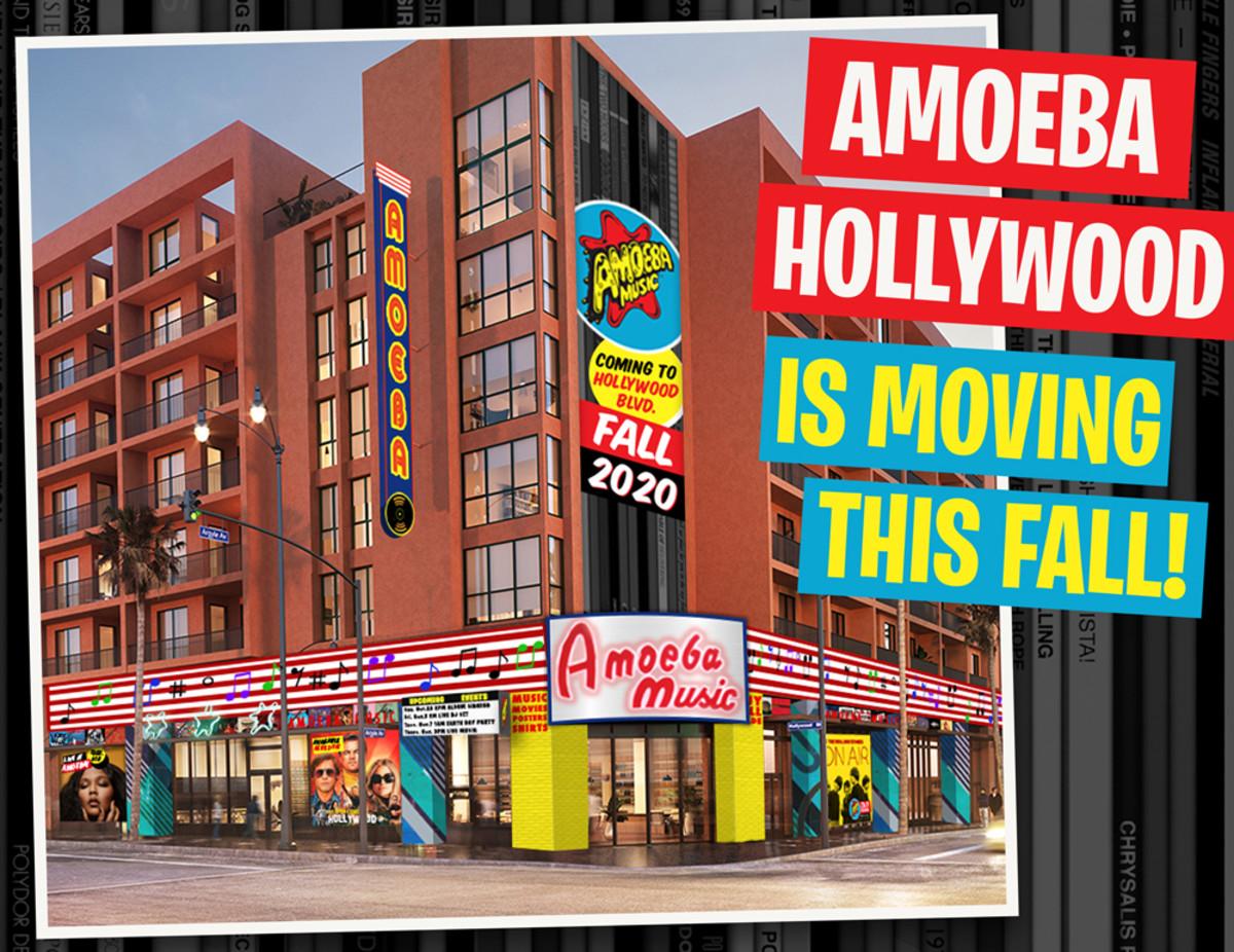 Amoeba Music Hollywood Move