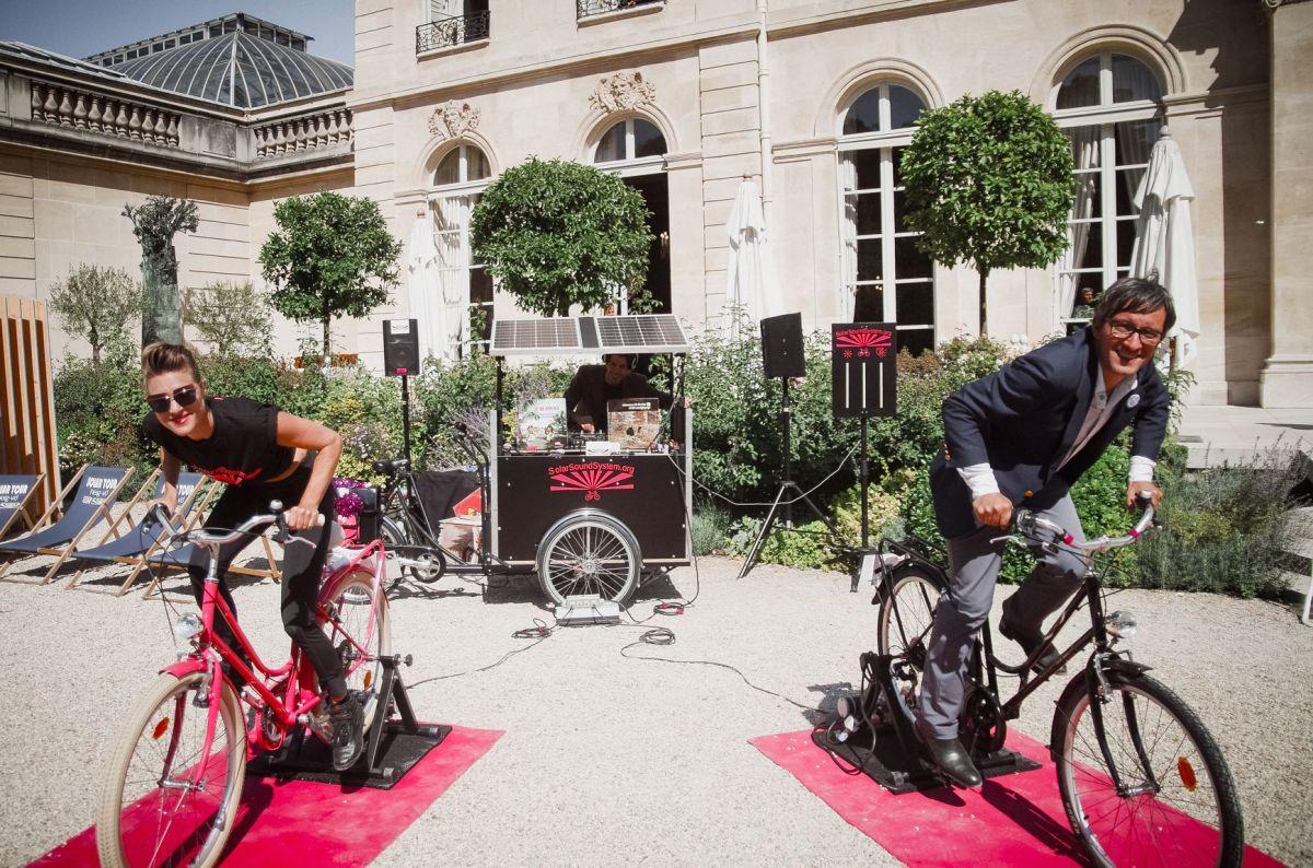 SolarSoundSystem Bikes Paris