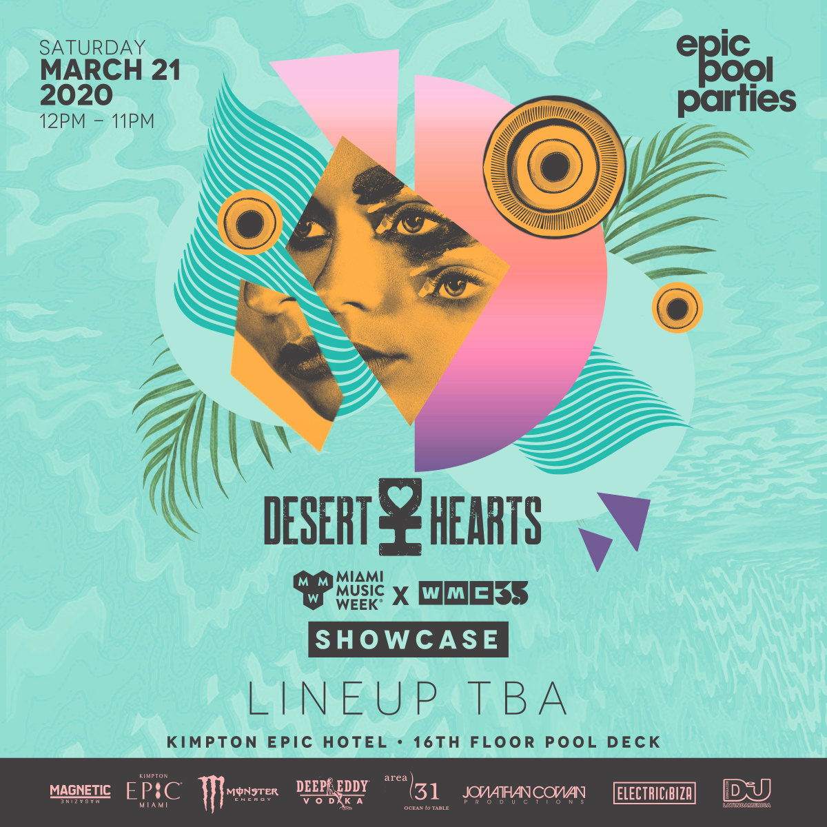 Desert Hearts EPIC Pool Party MMW 2020