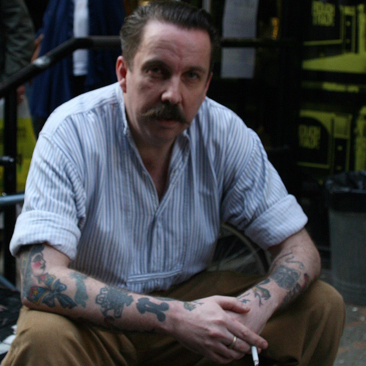 Andrew Weatherall @ Rough Trade East 2009