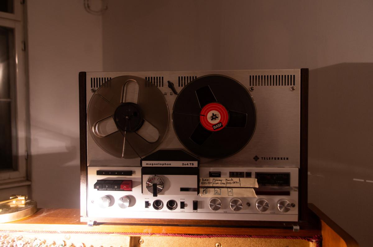Telefunken Magnetophon 204TS Tape Machine