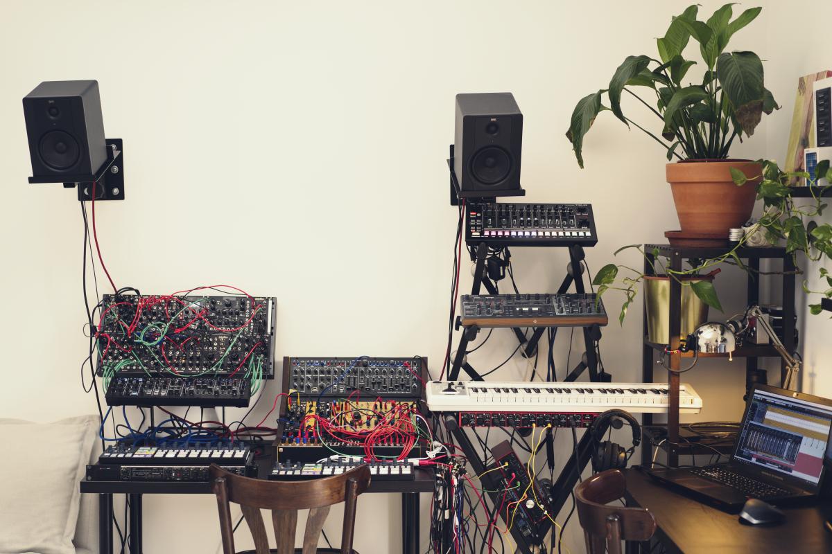 Julia Bondar Studio Gear Synths, Modular
