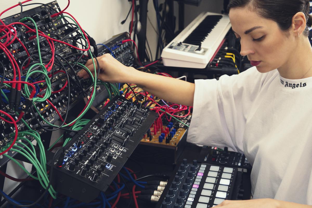 Julia Bondar Modular Synth