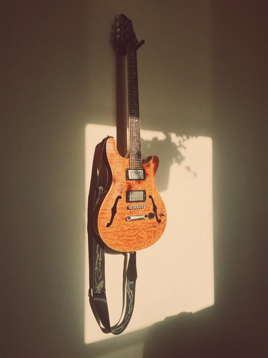 Raven West RG450 Hollowbody Electric Guitar