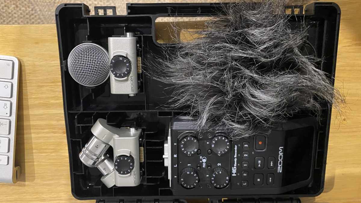 Zoom H6 Microphone Recorder