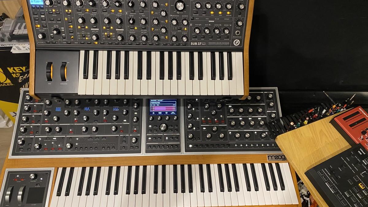 Moog One & Sub37