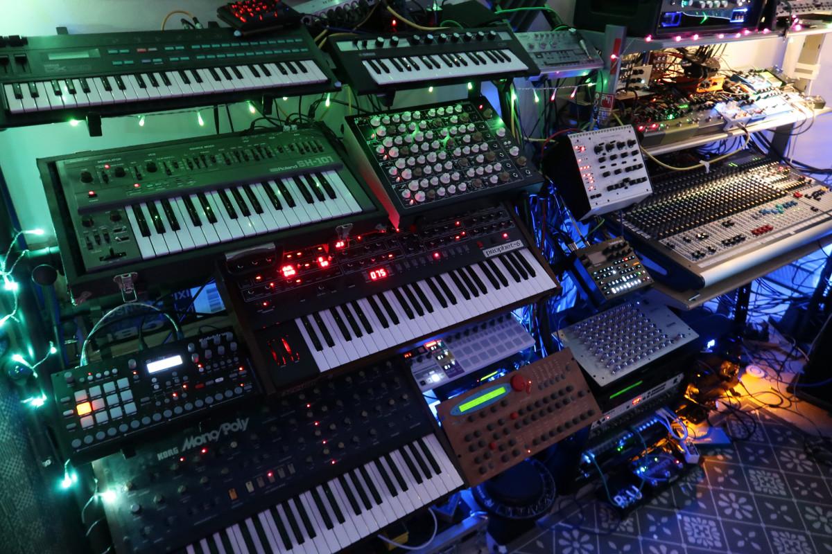 Phaeleh Studio Synths