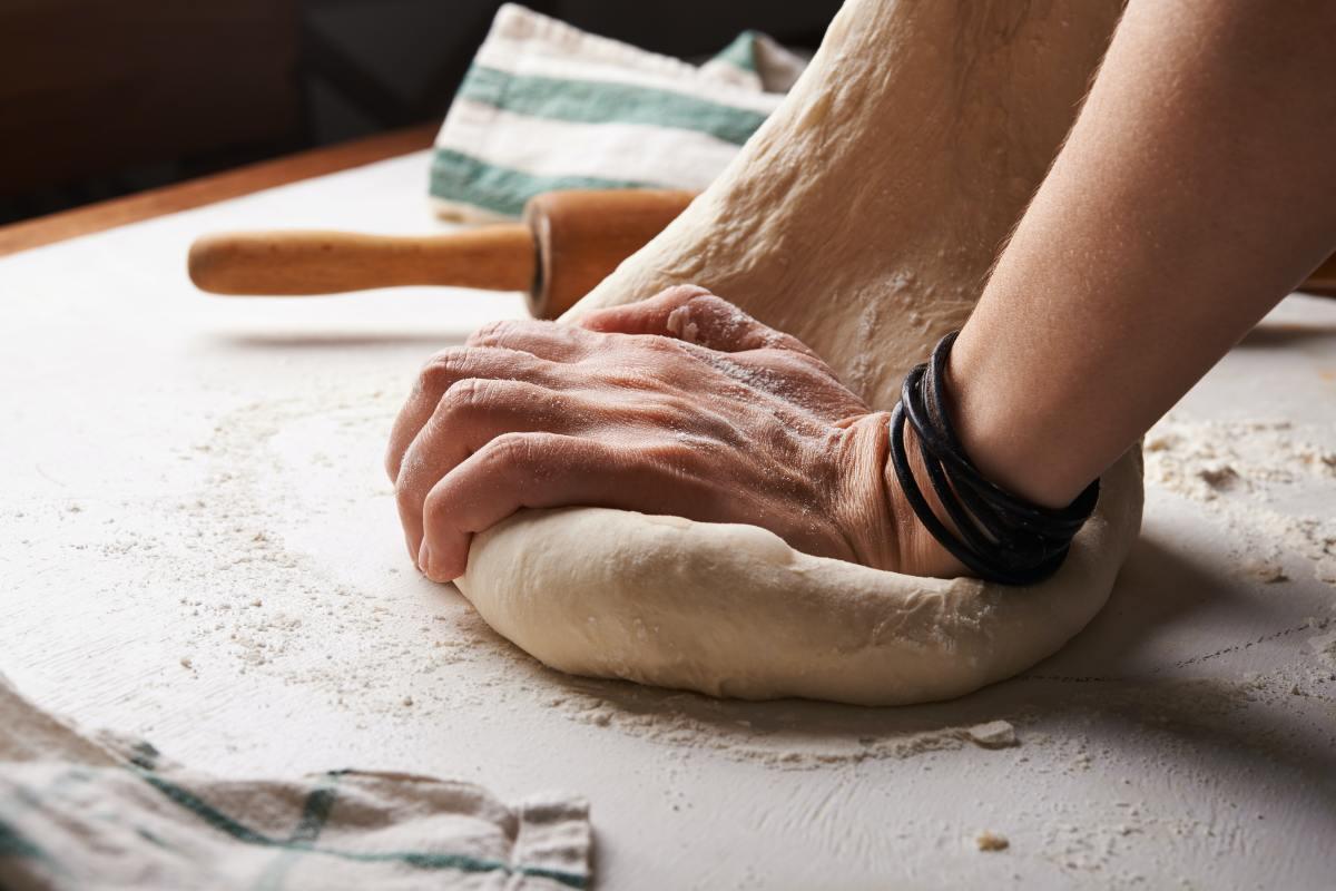 Making Pizza Dough