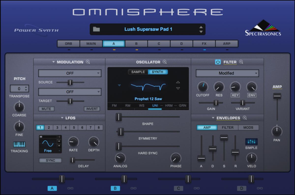 Sacrifice Omnisphere Pad