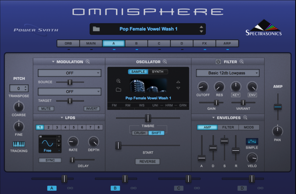 Silicon Hex Vox Pad Omnisphere