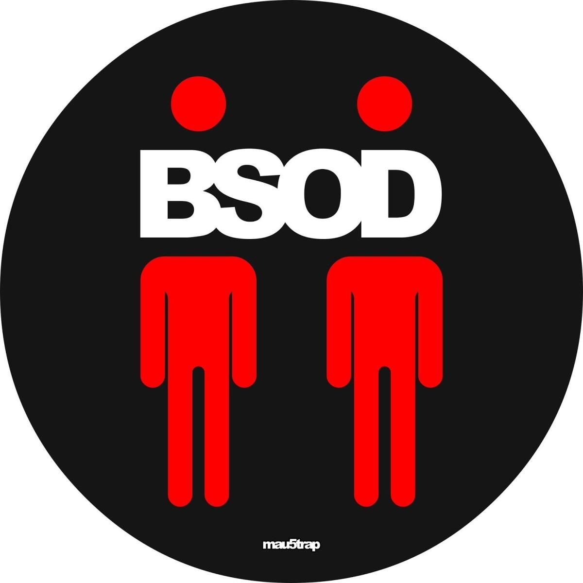 Deadmau5 Steve Duda BSOD EP Cover