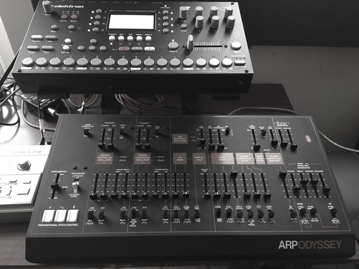 Korg Arp Odyssey Module Rev3