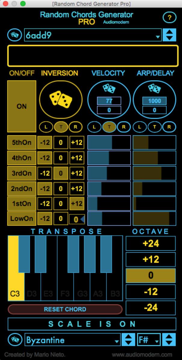 Random Chord Generator MAX