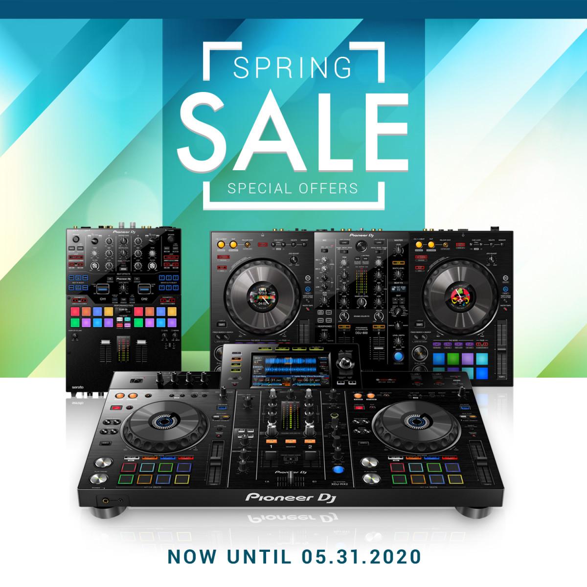 Pioneer Spring sale 2020