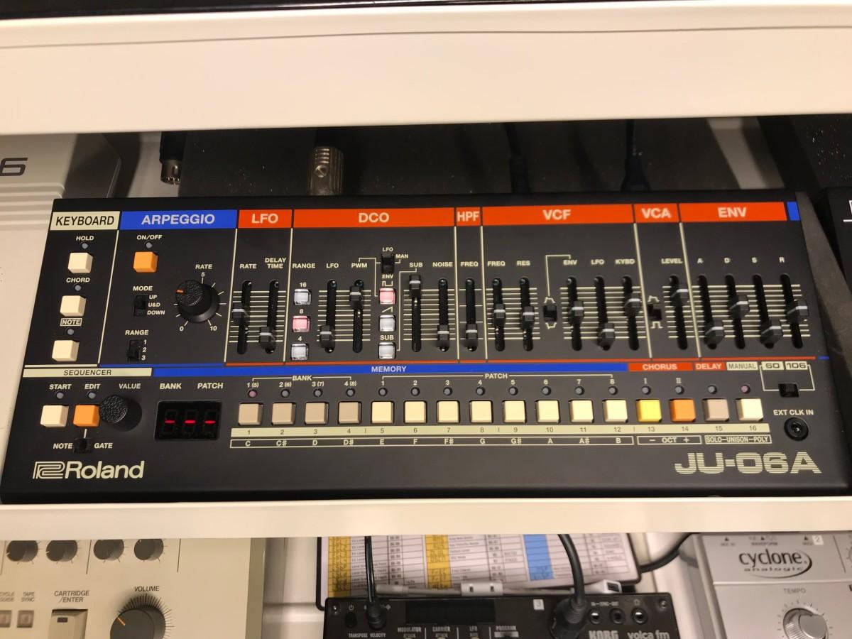 Roland JU-06A- Martin Ikin