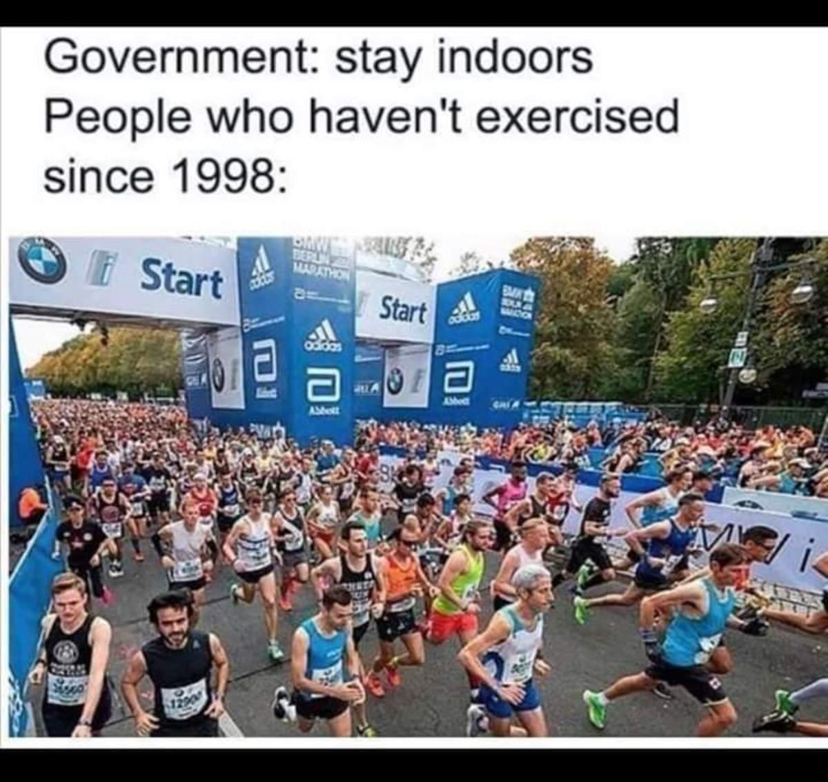quarantine marathon