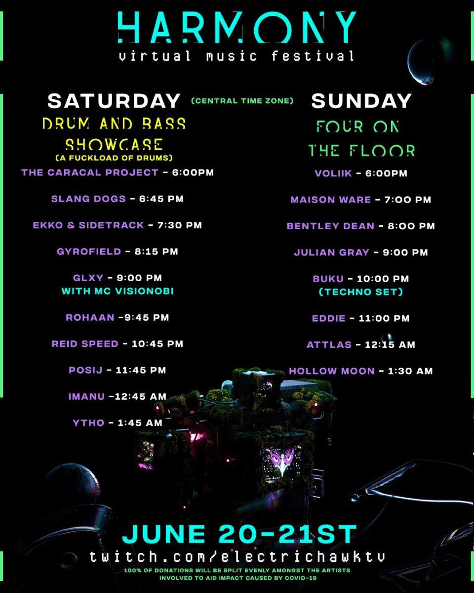Harmony Virtual Music Festival