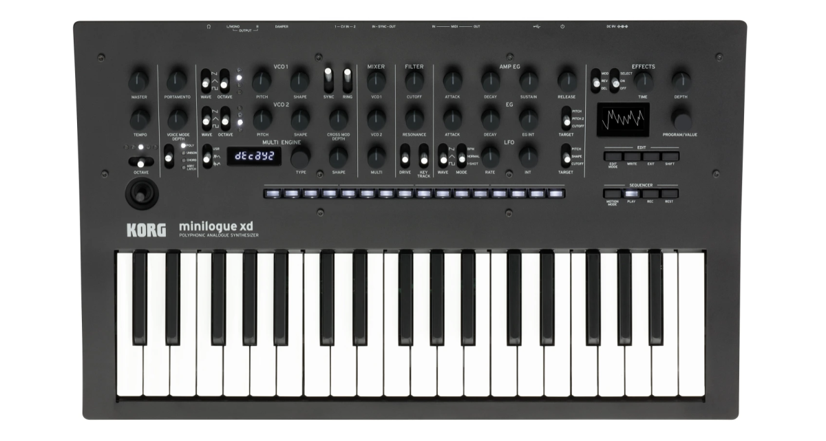 One of the best synths you can get when you are starting out.