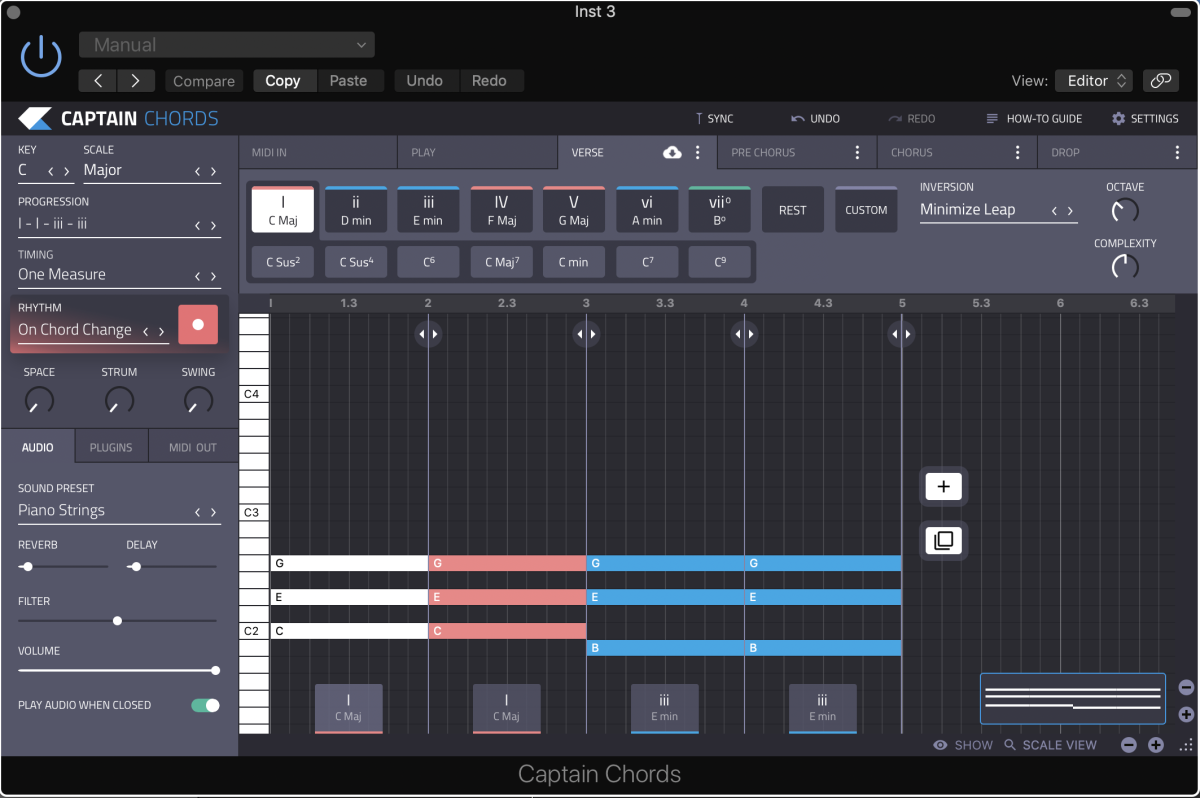 Captain Chords By Mixed In Key will help you get your chord game on point.