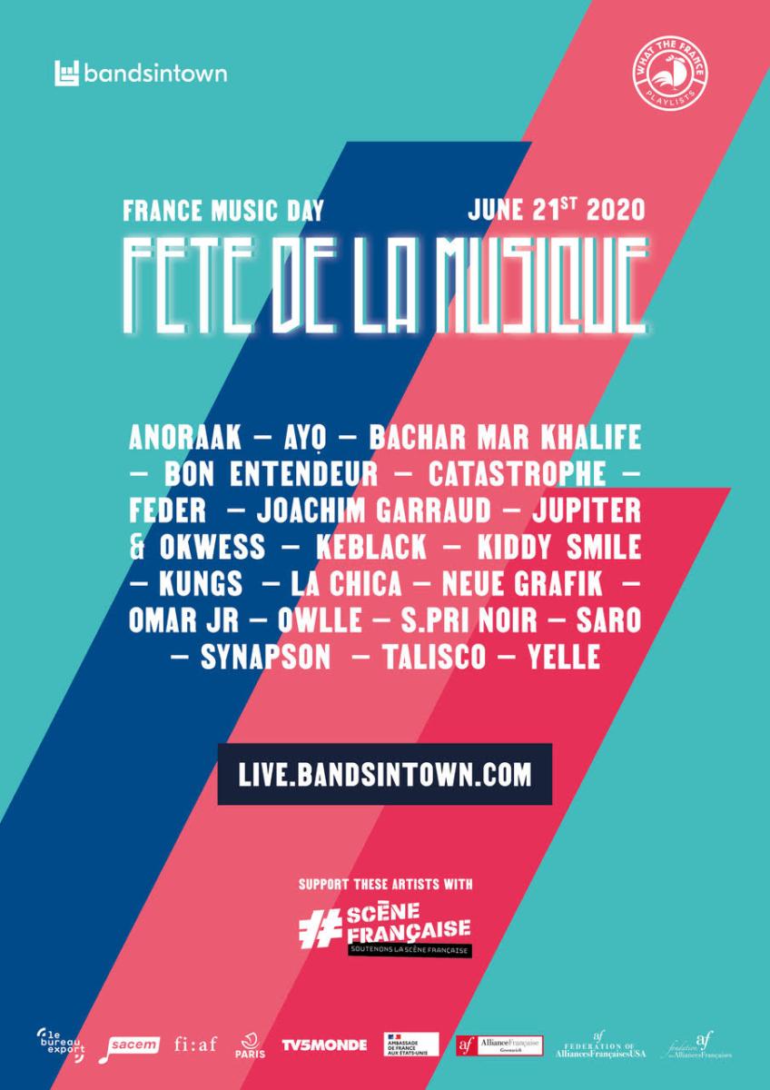 Fête de la Musique / Make Music Day 2020 Bandsintown