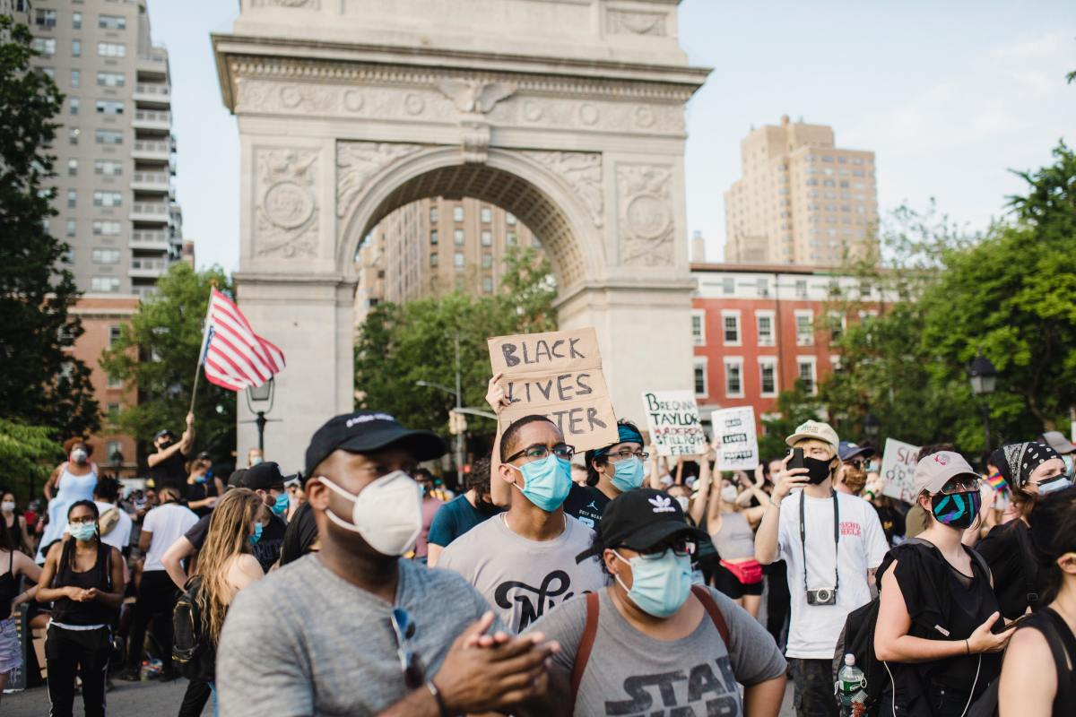 Protests Black Lives Matter George Floyd New York City NYC
