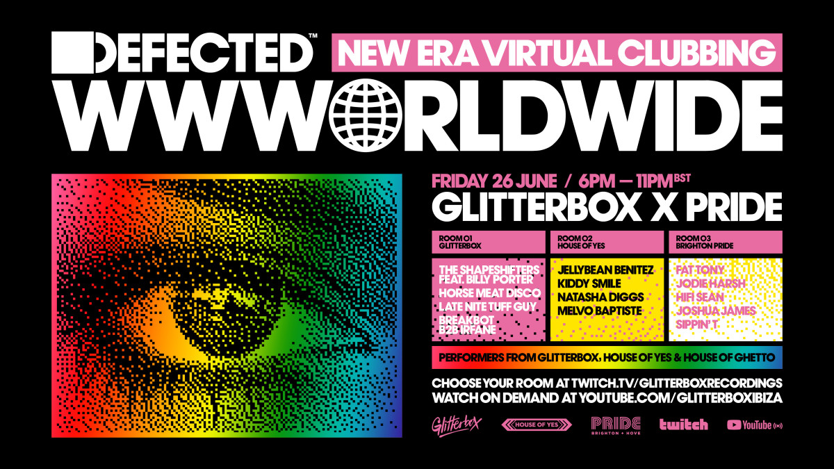Defected Worldwide 2 Pride 2020