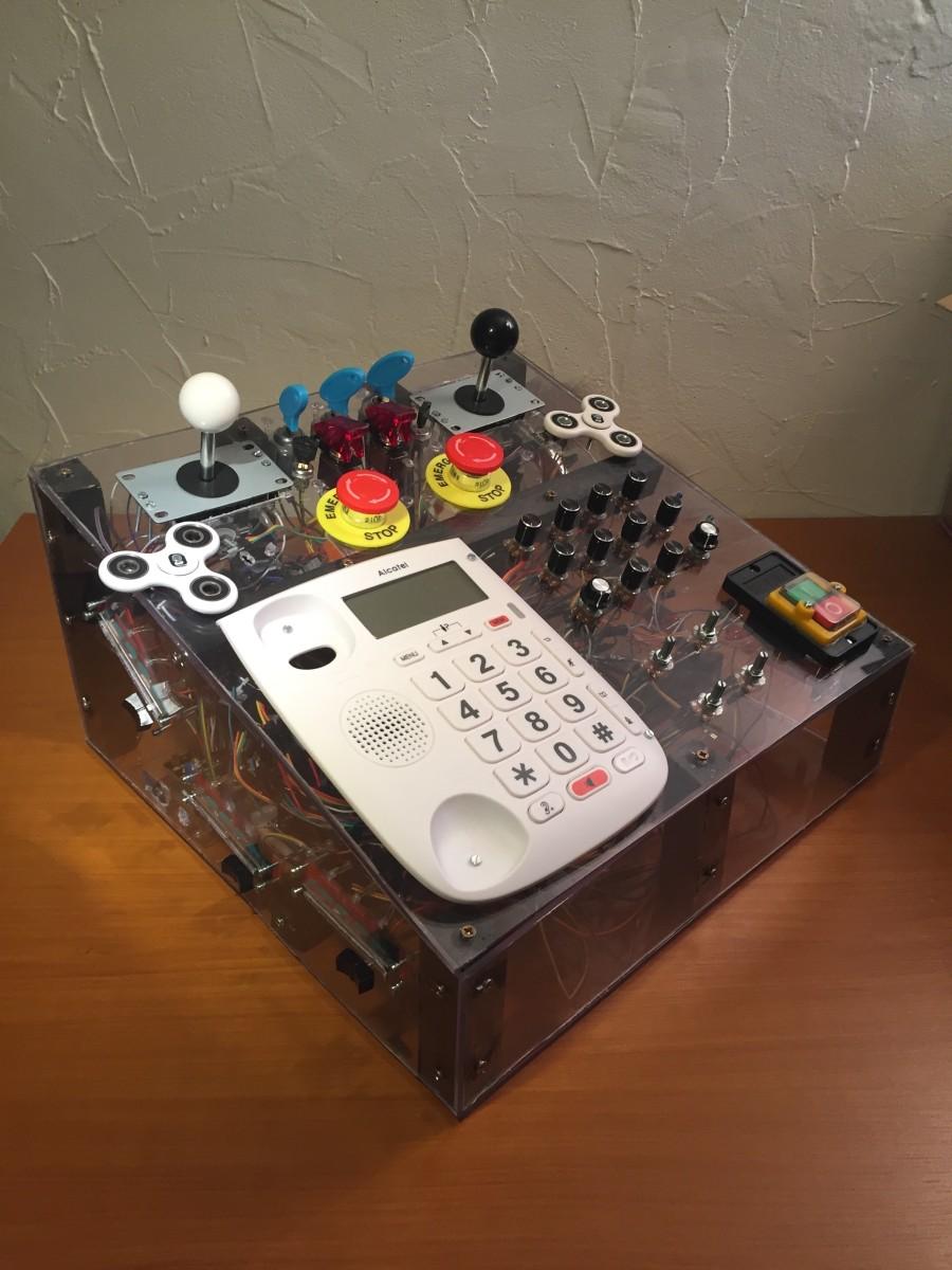 Ouai Stephane's homemade controller