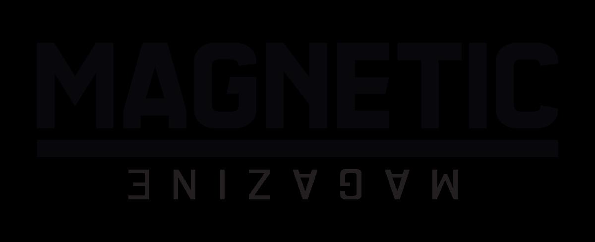 Magnetic mag logo