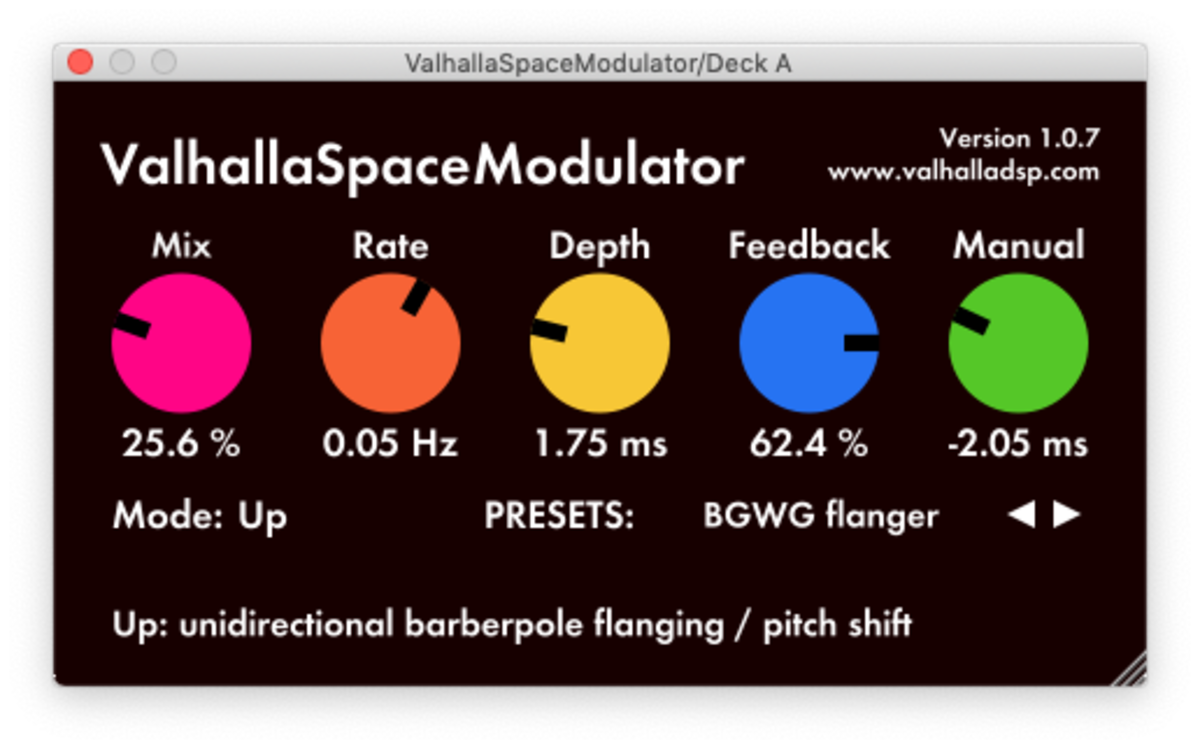 ValhallaSpaceModulator