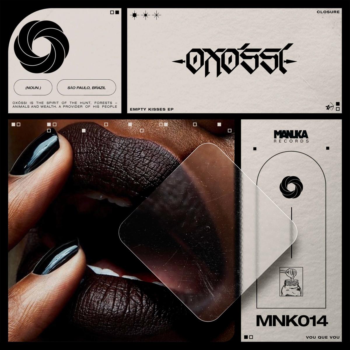 Oxossi - Empty Kisses Release Artwork