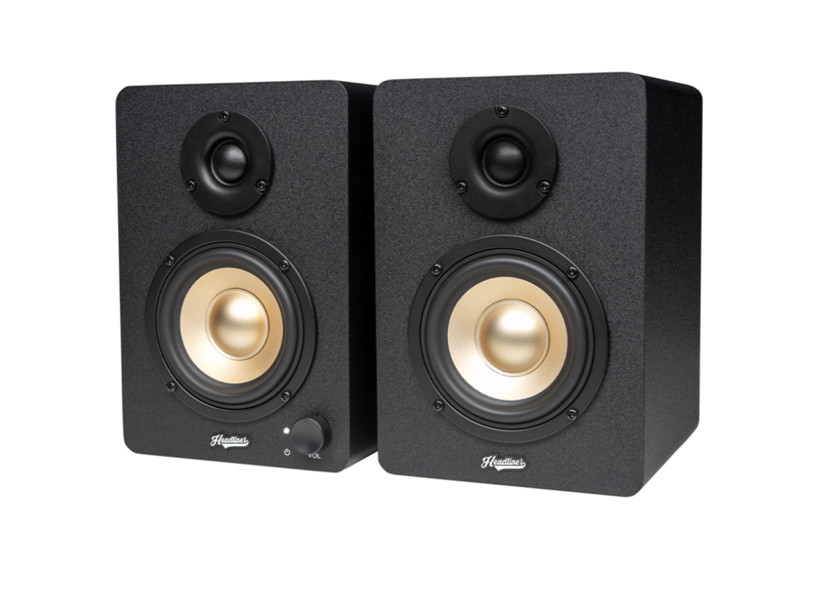 The HD3 in black, also available in wood and limited edition wood (as seen above)