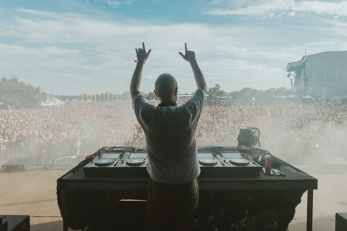 Chris Lake by Dusana Risovic for ACL fest