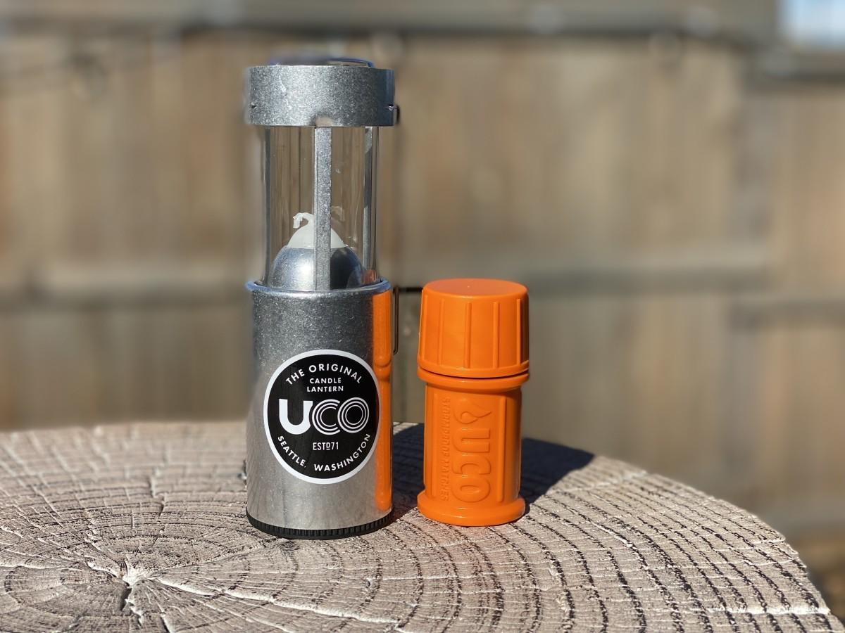 Candle Lantern and Weatherproof Matches