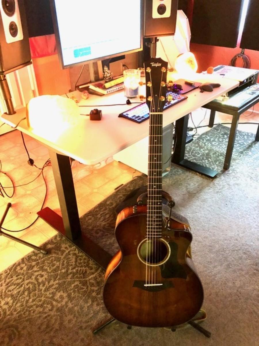 Taylor 224ce-K DLX Grand Auditorium Acoustic-Electric