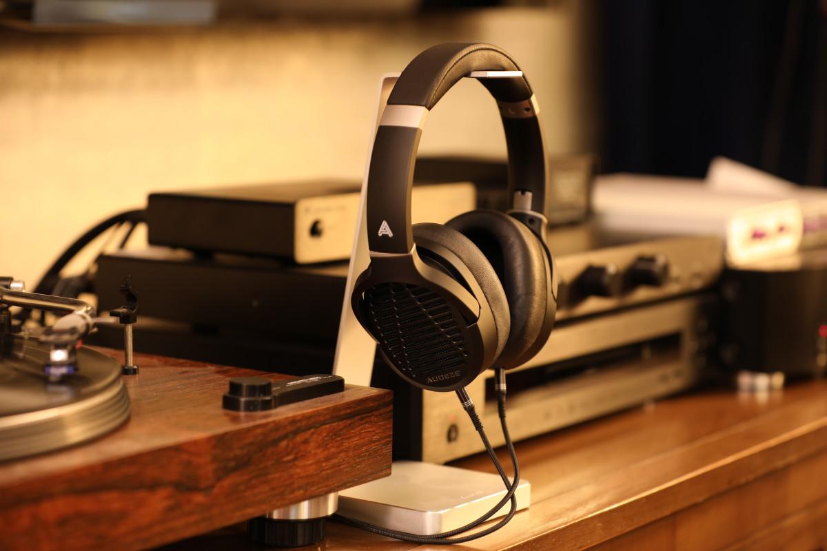 Audeze LCD-1 Headphones On Stand