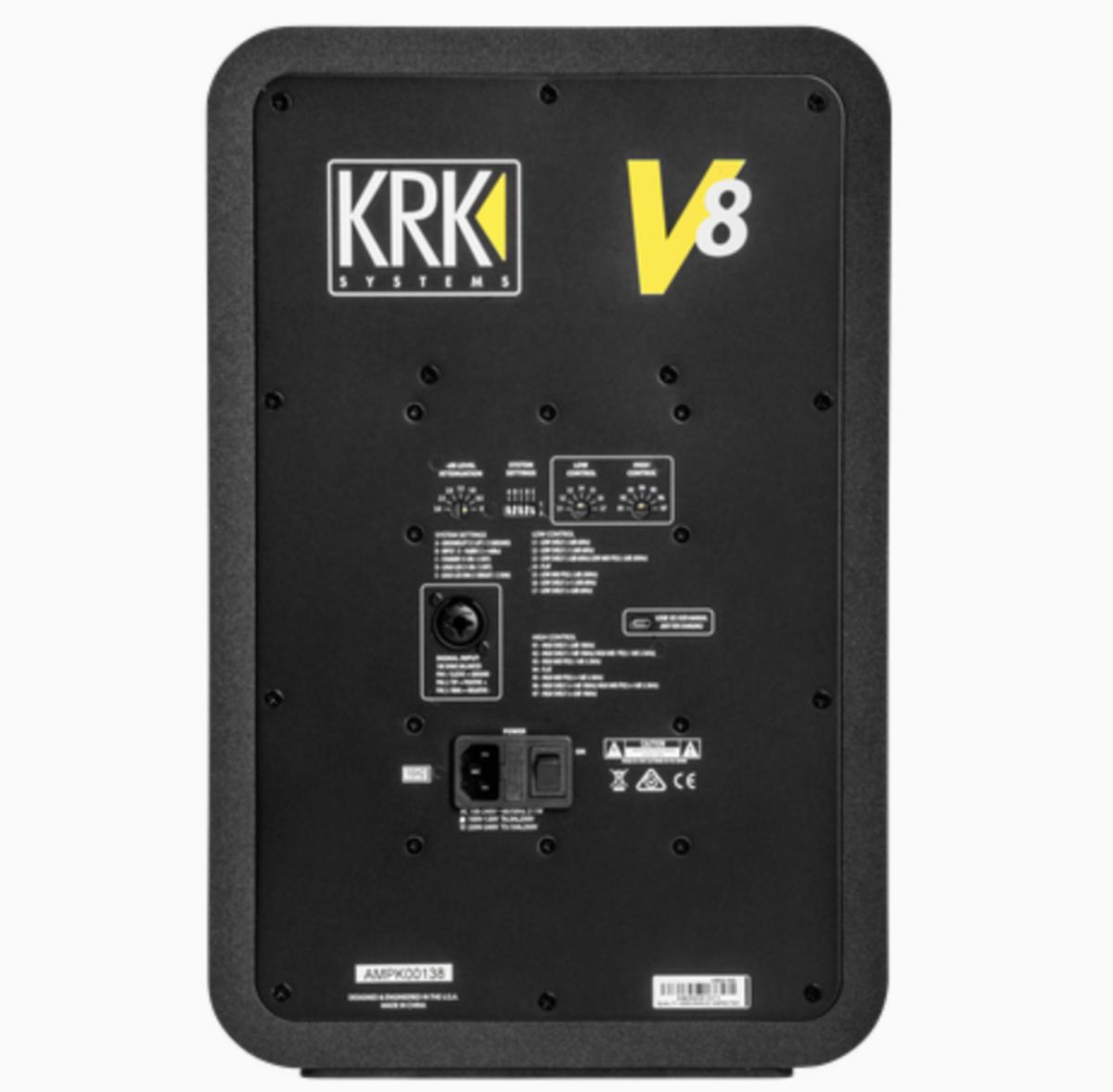 KRK V8 S4 Speaker Back