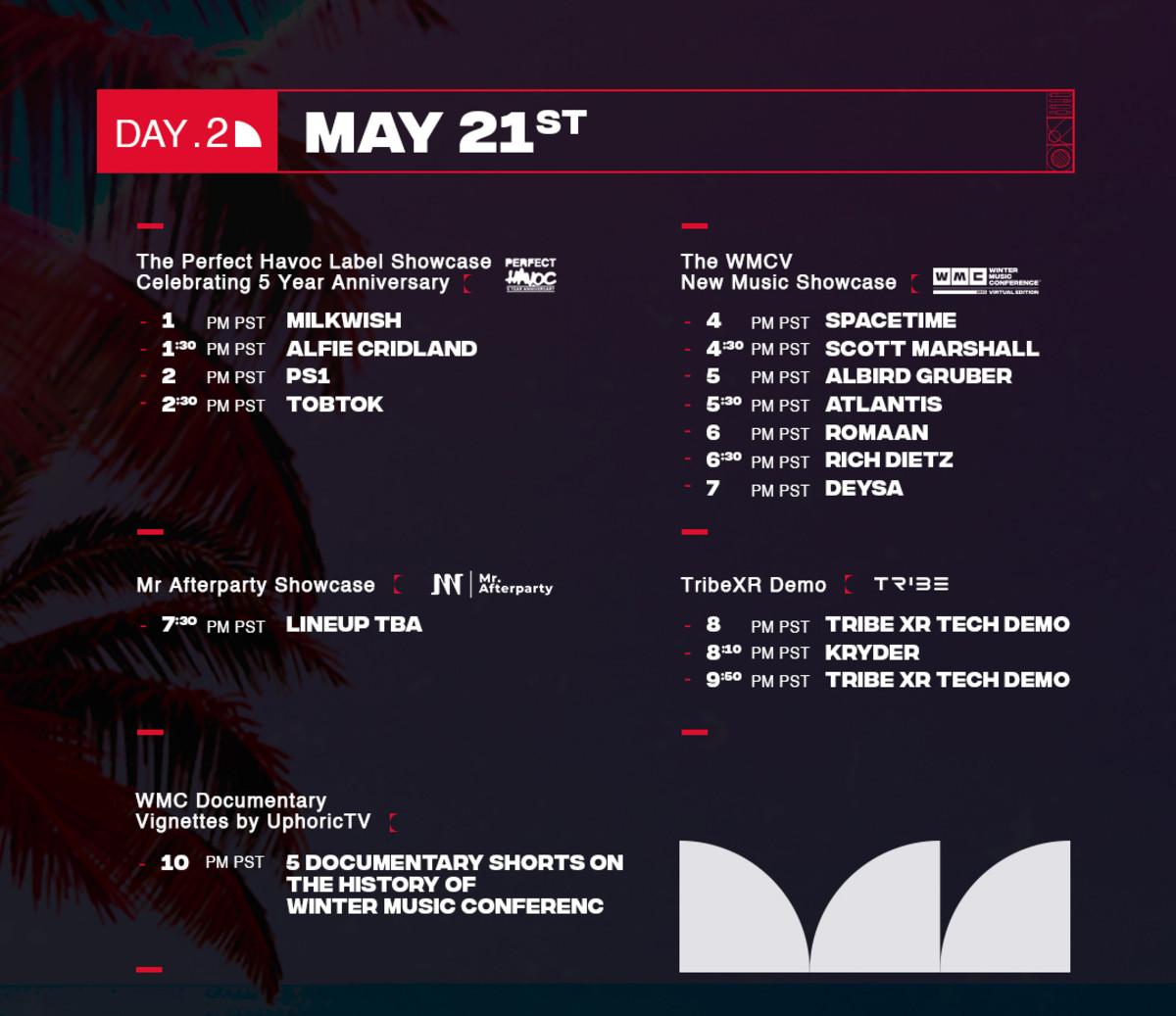 Music Showcase - Day 2