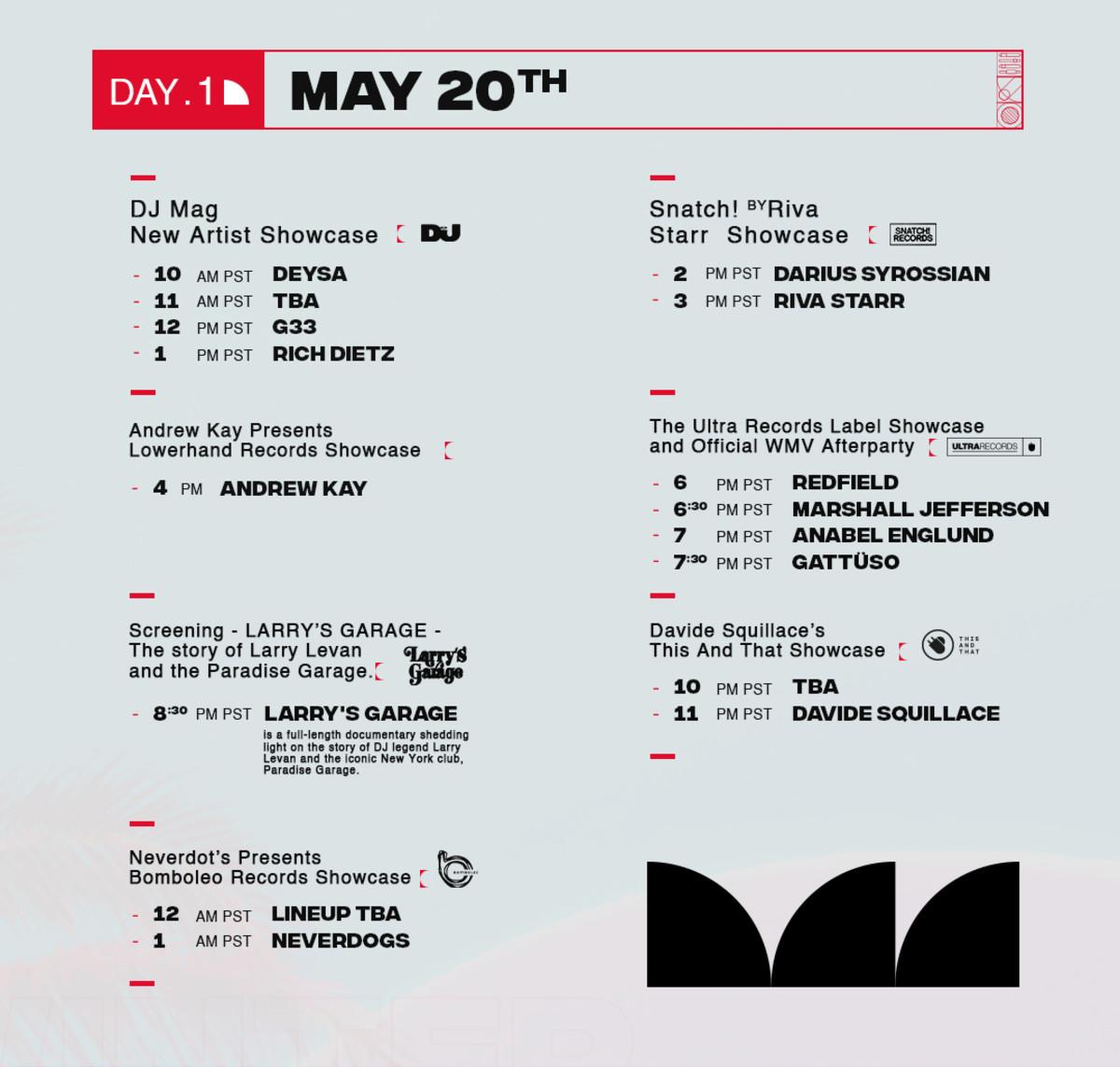 Music Showcase - Day 1