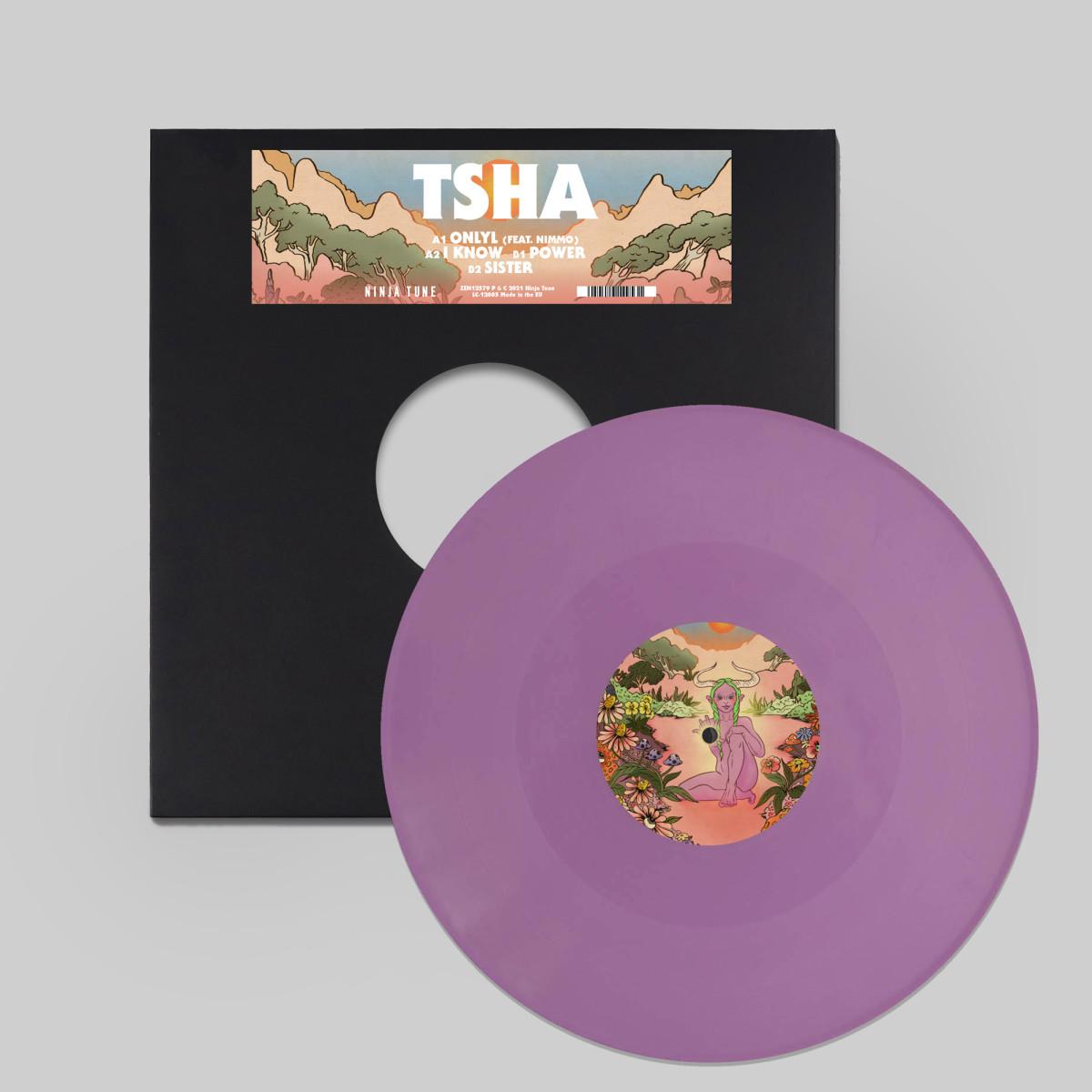 TSHA OnlyL EP Cover Art Vinyl Sleeve