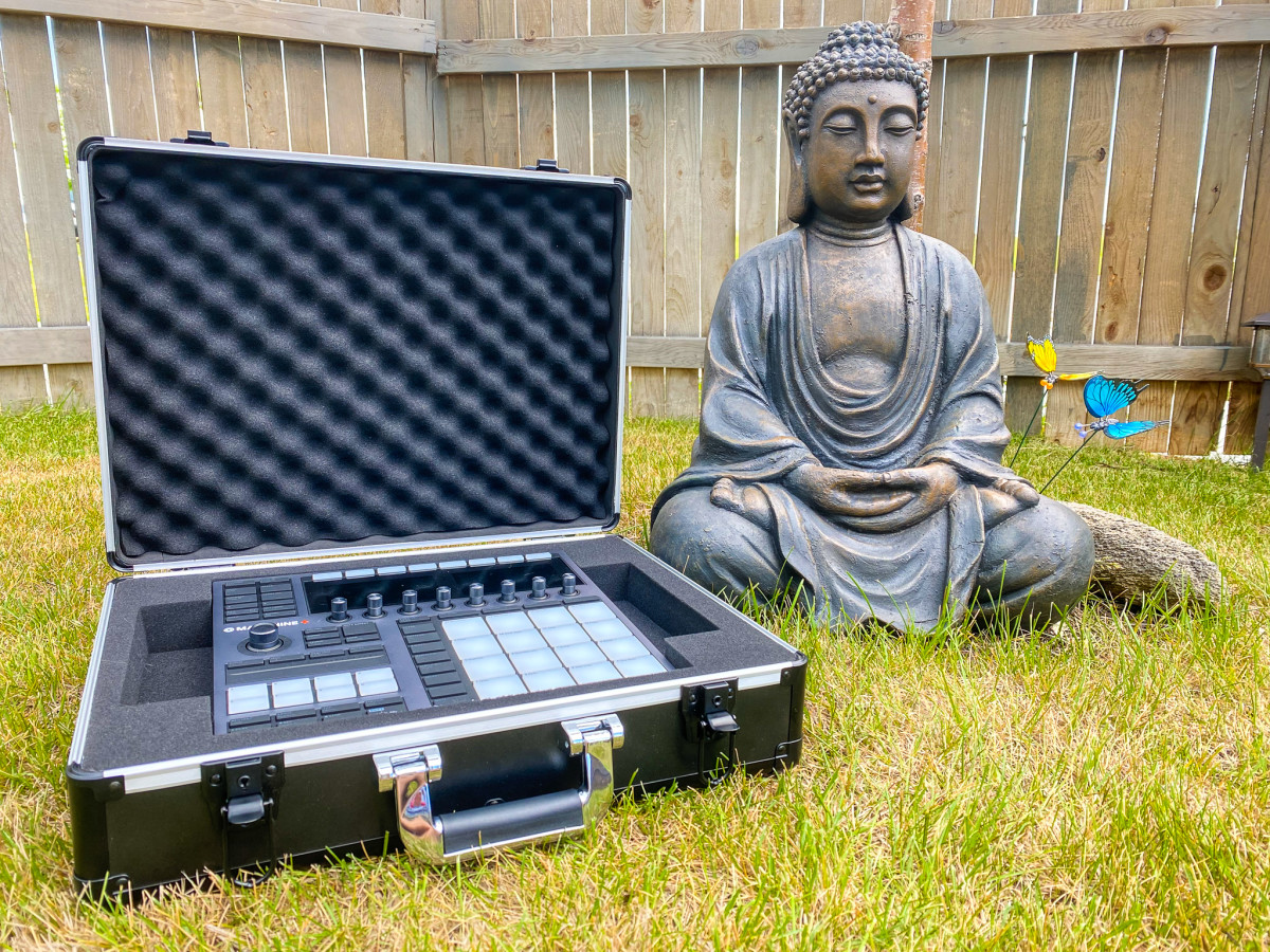 Can you feel the Zen of knowing that your Maschine+ or MK3 is fully protected with the new UNISON Hardcase from Analog Cases?