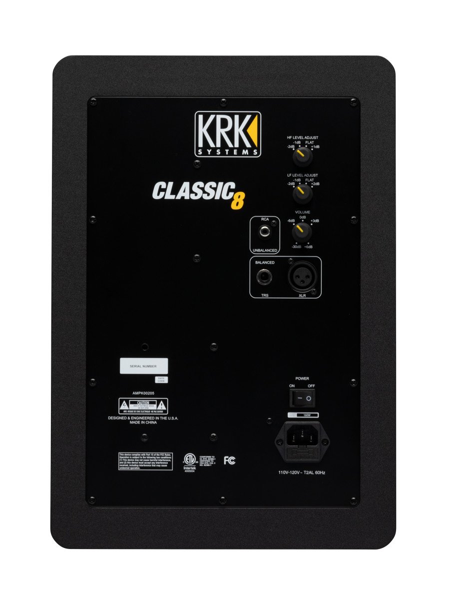 KRK CLASSIC 8 Back