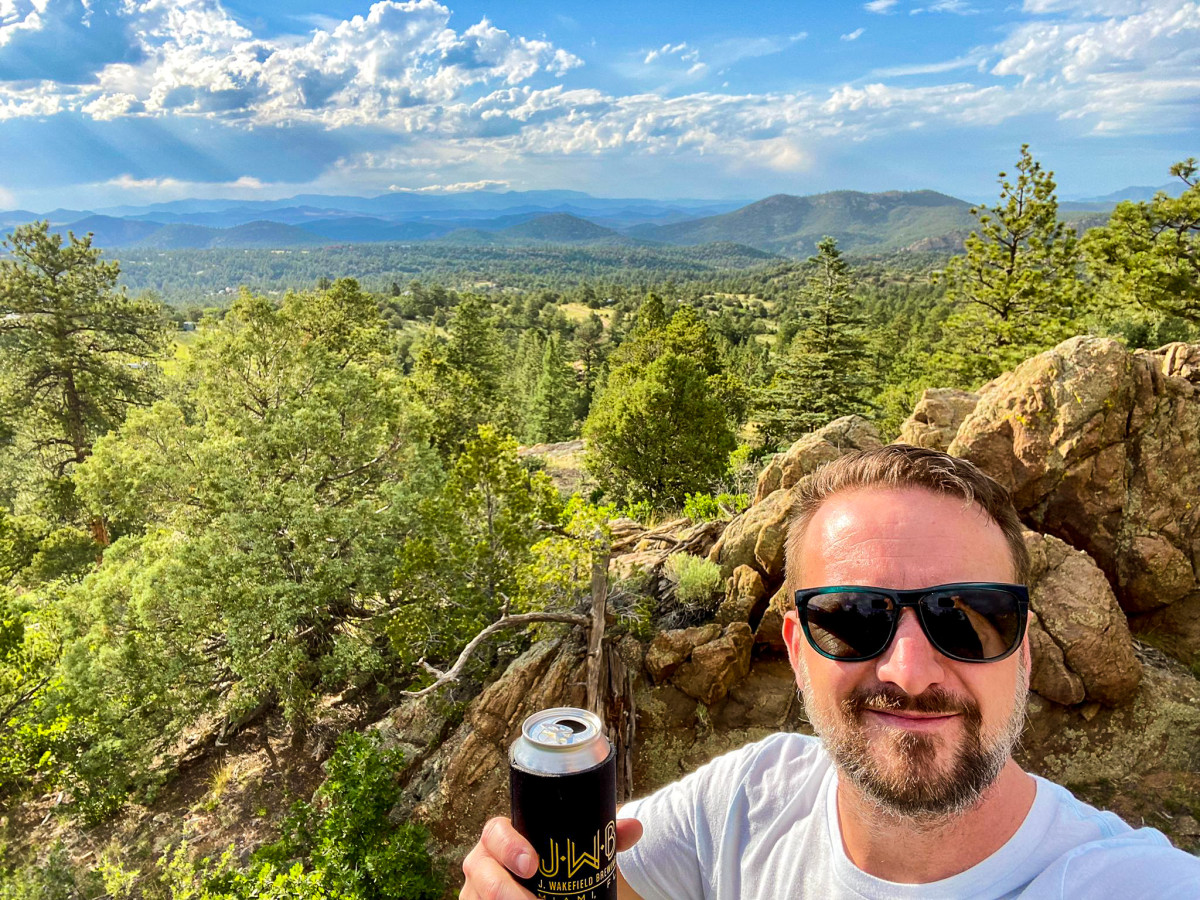 Josh W. - Camping Beer Advisor and fire starter