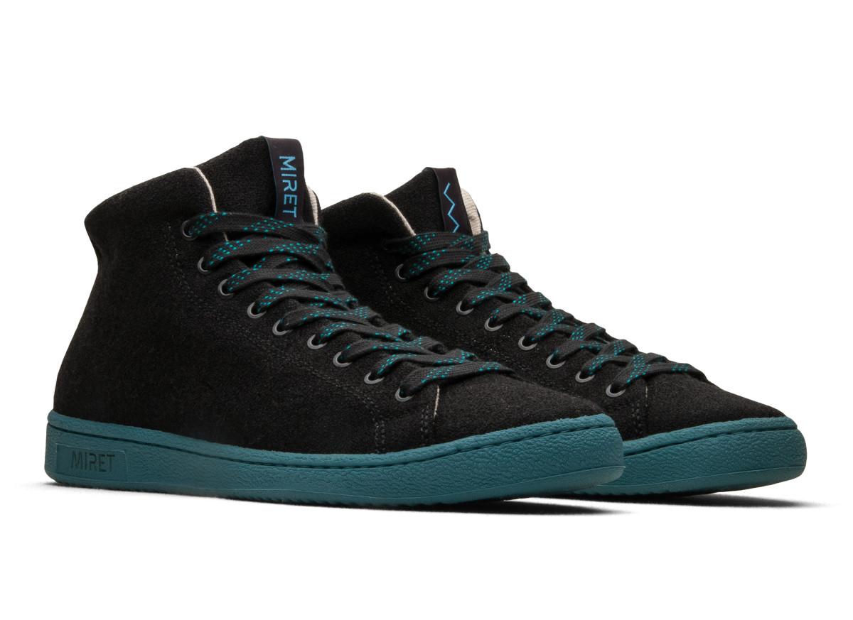 MIRET Black Sneakers