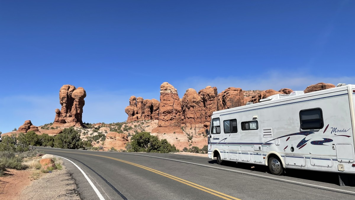 Is this Mars or just Arches National Park?