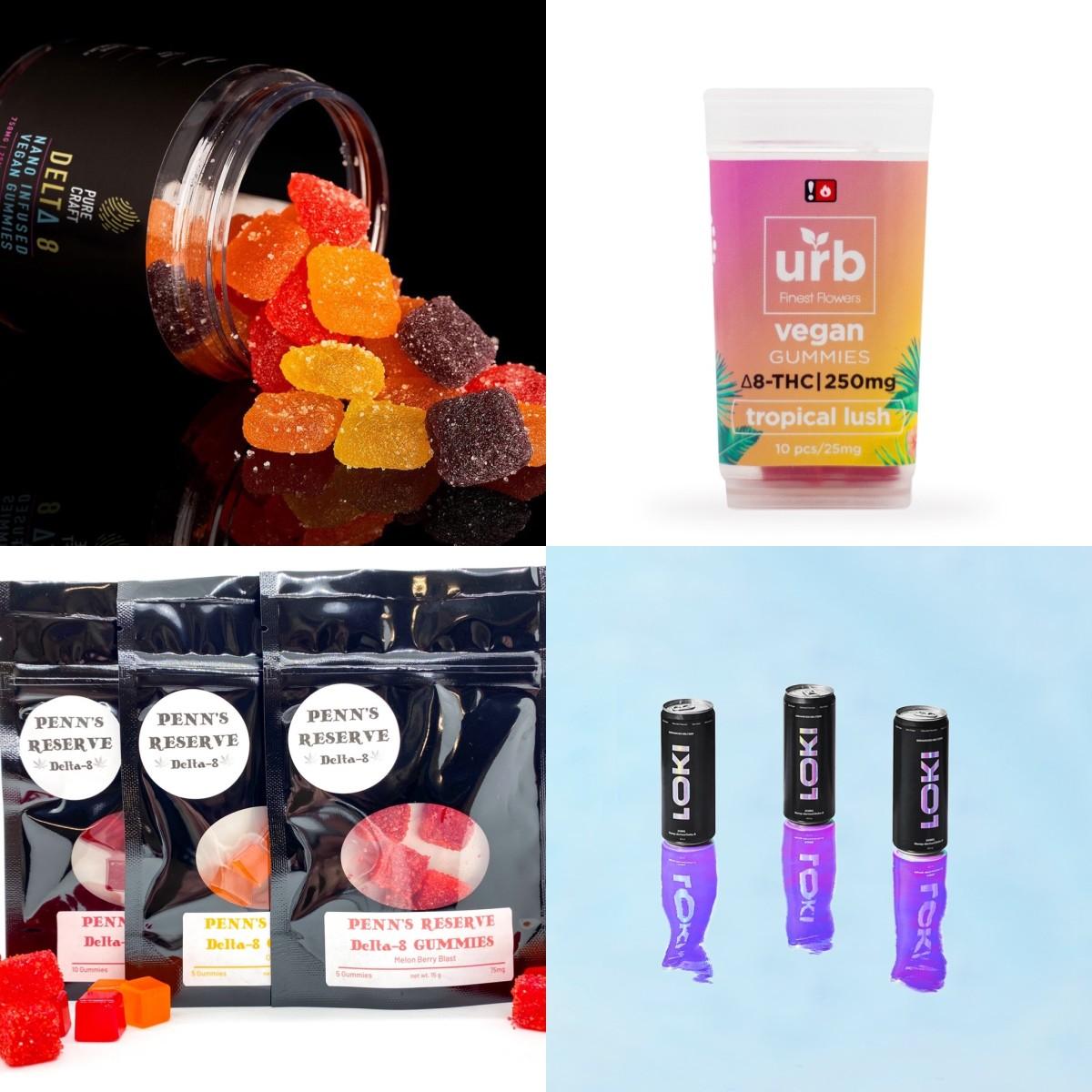 Delta-8-THC edibles