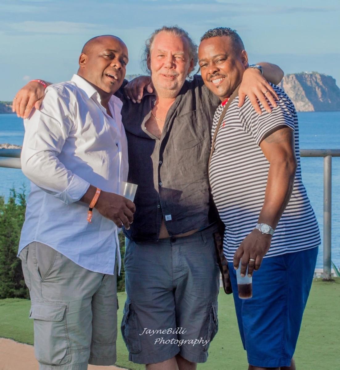 Gordon Mac with Bobby & Steve